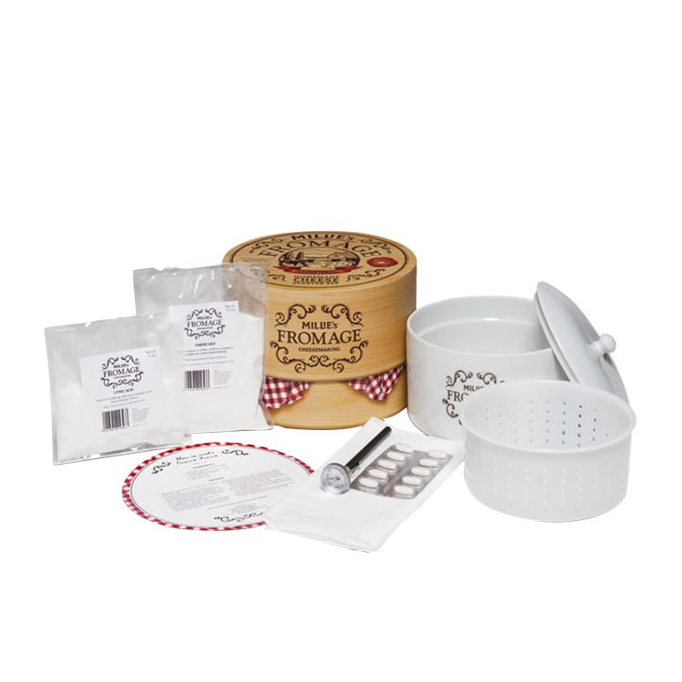 Mad Millie Fromage Homemade Cheese Starter Kit