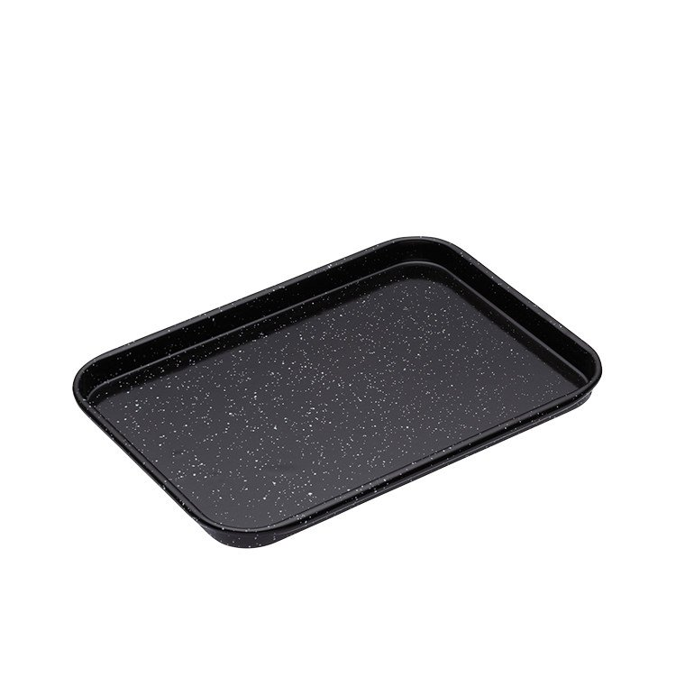 mastercraft enamel baking tray 24x18cm fast shipping. Black Bedroom Furniture Sets. Home Design Ideas