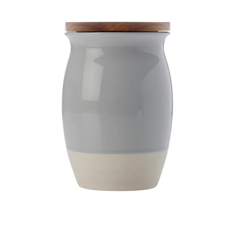 Maxwell & Williams Artisan Dipped Canister 1L Cloud