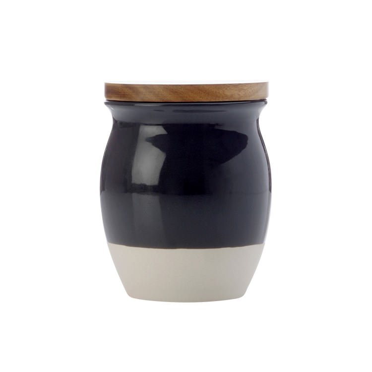 Maxwell & Williams Artisan Dipped Canister 500ml Charcoal