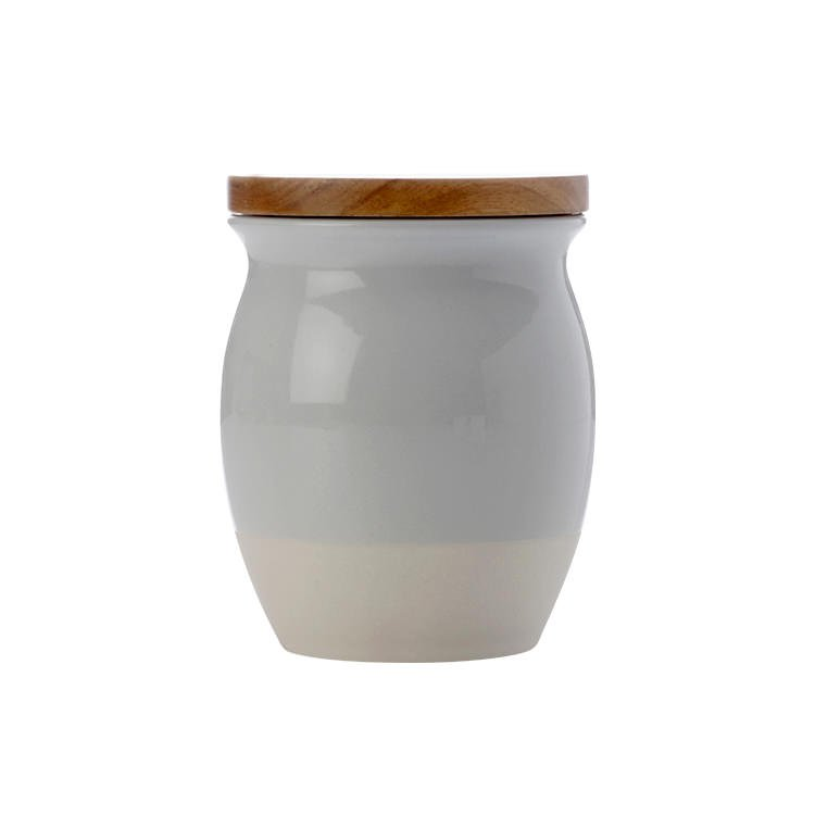Maxwell & Williams Artisan Dipped Canister 500ml Cloud