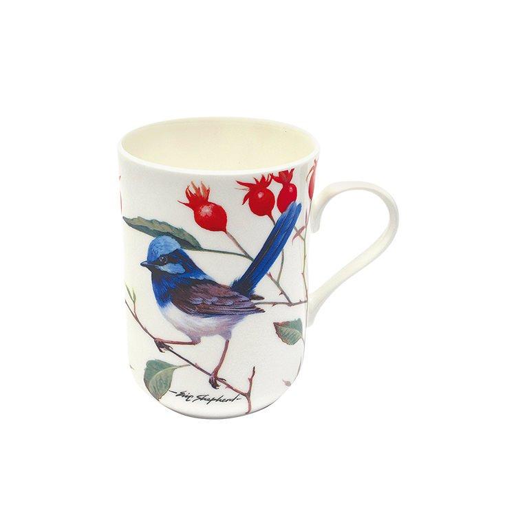 maxwell williams birds of australia eric shepherd blue wrens mug 300ml buy now save. Black Bedroom Furniture Sets. Home Design Ideas
