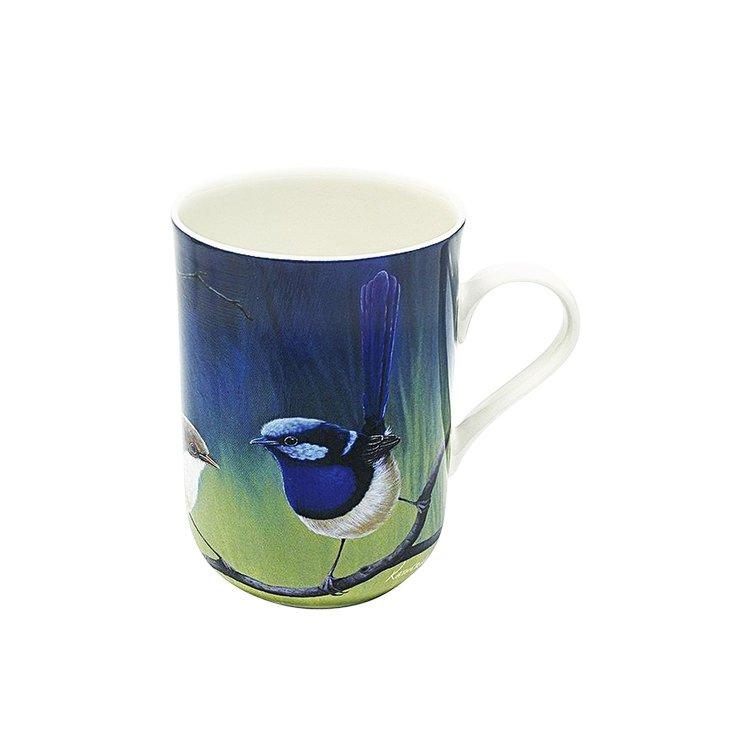Maxwell & Williams Birds of Australia Katherine Castle Superb-Fairy Wrens Mug 300ml