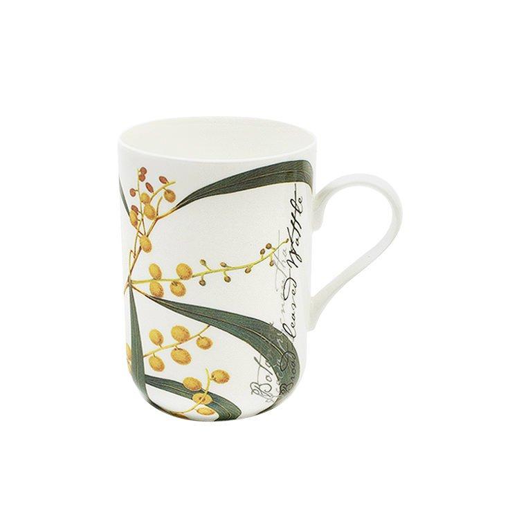 maxwell williams botanic mug wattle on sale now. Black Bedroom Furniture Sets. Home Design Ideas
