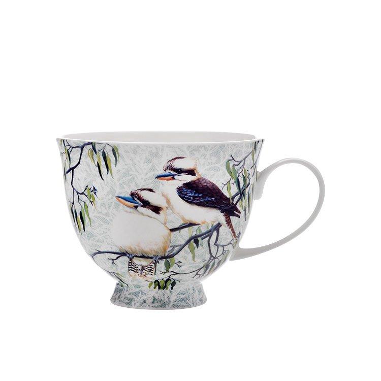 maxwell williams cashmere birds of australia kookaburras treetop mug 480ml fast shipping. Black Bedroom Furniture Sets. Home Design Ideas