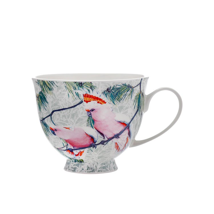 maxwell williams cashmere birds of australia major mitch cockatoo treetop mug 480ml fast. Black Bedroom Furniture Sets. Home Design Ideas