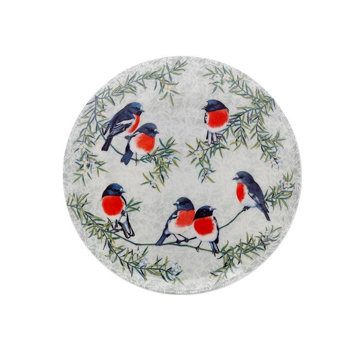 Maxwell & Williams Cashmere Birds of Australia Robins Treetop Plate 20cm