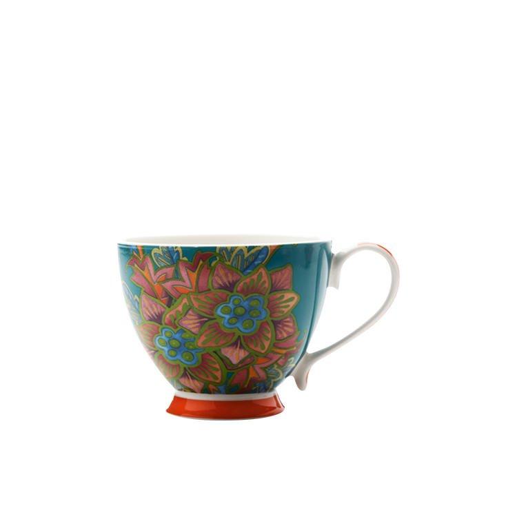 Maxwell & Williams Hanoi Mug Flower Lilly 400ml Blue