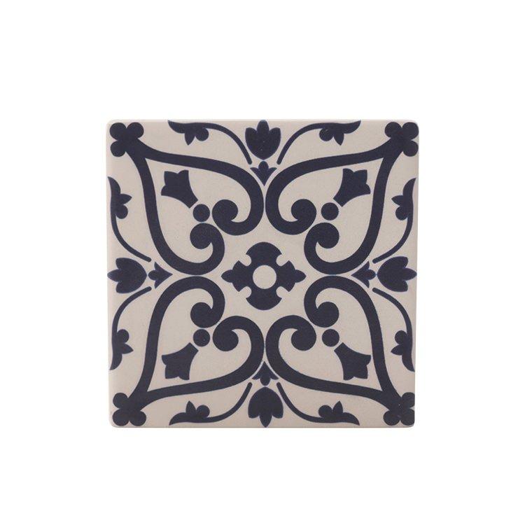 Maxwell & Williams Medina Ceramic Square Tile Coaster Maarif 9cm ...
