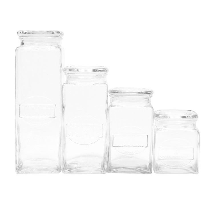 Maxwell & Williams Olde English Storage Jars Set Of 4