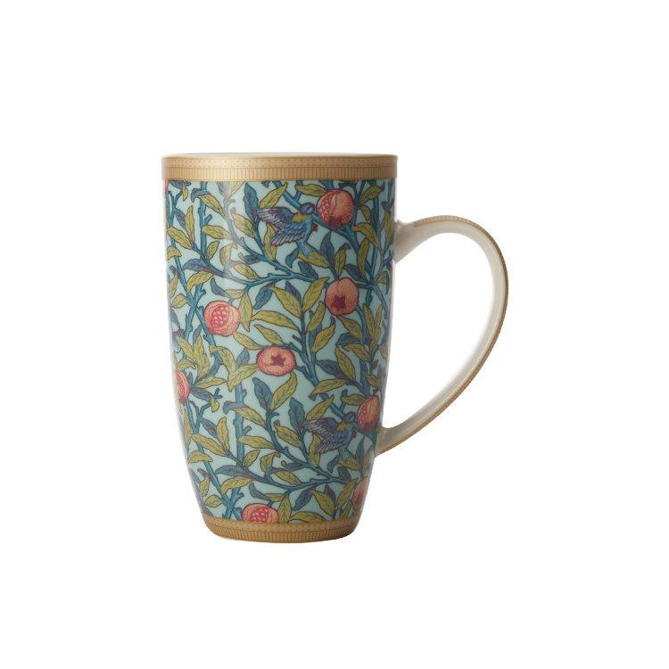 Maxwell & Williams William Morris Bird & Pomegranate Coupe Mug 420ml