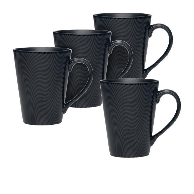 Noritake BoB Dune 4pc Mug Set 355ml