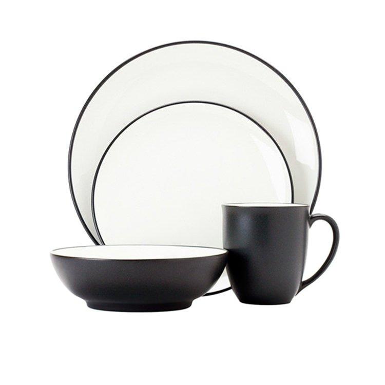Noritake Colorwave Graphite 16pc Dinner Set