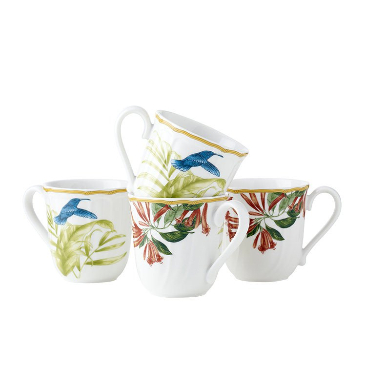 Noritake Hummingbird Meadow Mug Set of 4