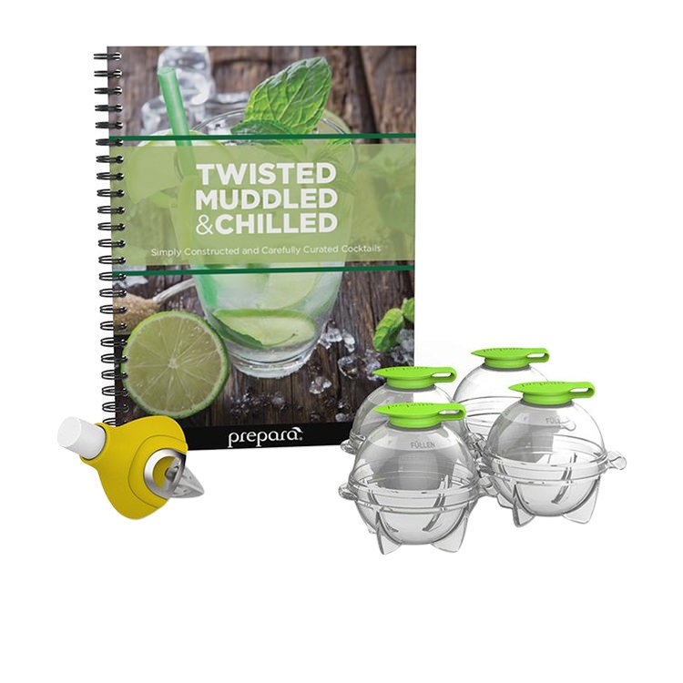 Prepara Twisted Muddle & Chilled Cocktail Set