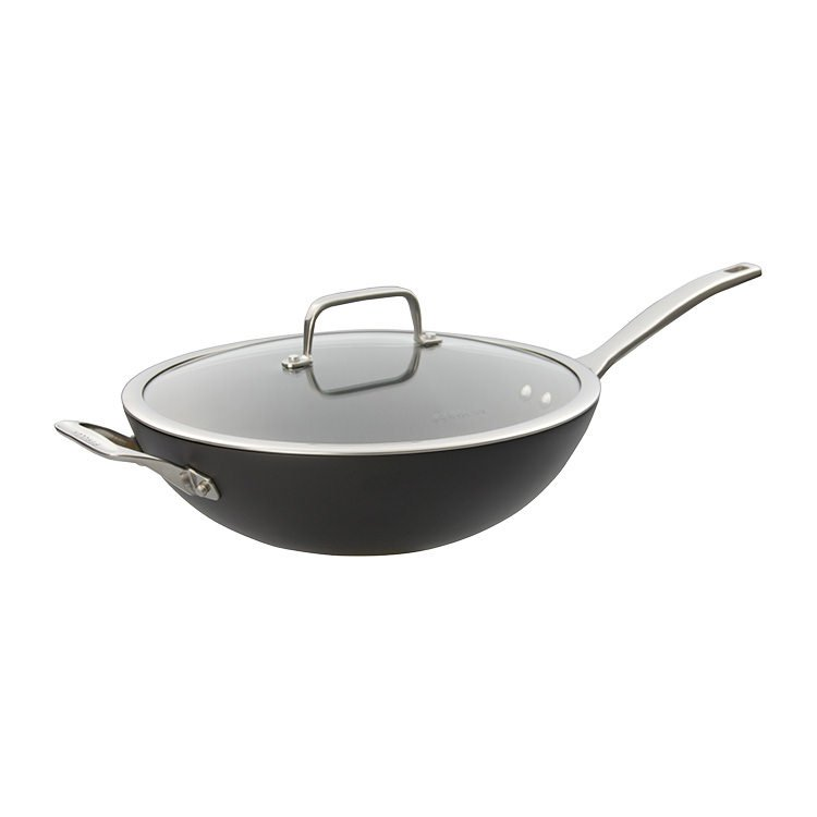 Pyrolux Induction HA+ Wok with Lid 32cm