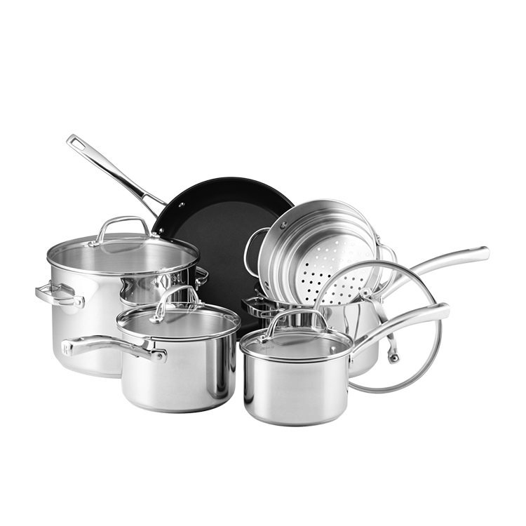 Raco Commercial Stainless Steel 6pc Cookware Set
