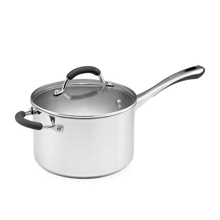 Raco Contemporary Stainless Steel Saucepan 3.8L