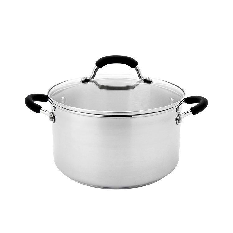 Raco Contemporary Stainless Steel Stockpot 5.7L