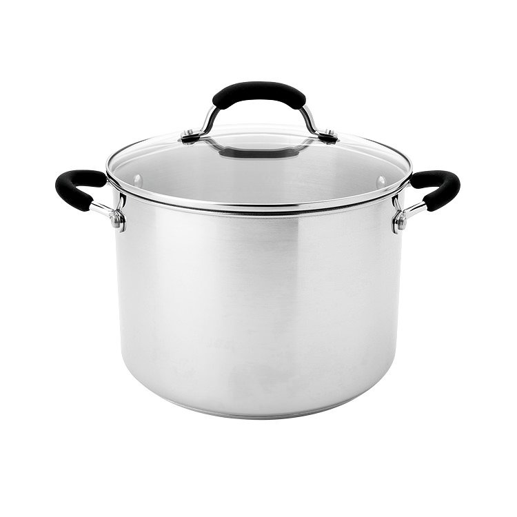 Raco Contemporary Stainless Steel Stockpot 7.6L