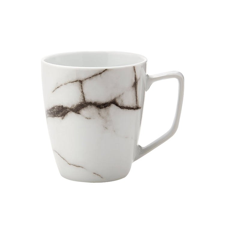 Salt & Pepper Marble Mug Set of 4