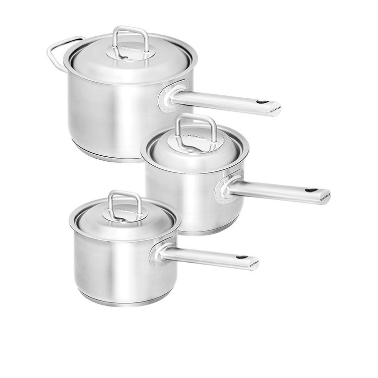 Scanpan Commercial 3pc Saucepan Set