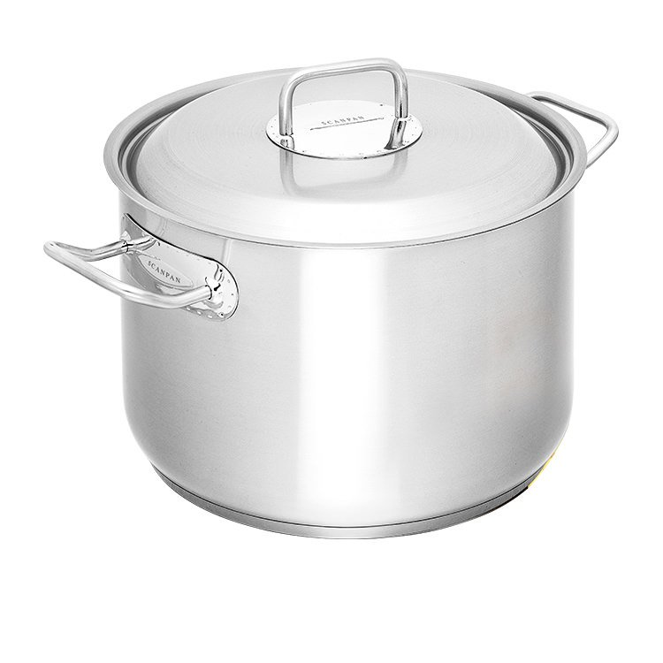 Industrial Kitchen Pans: Scanpan Commercial Stockpot 11L