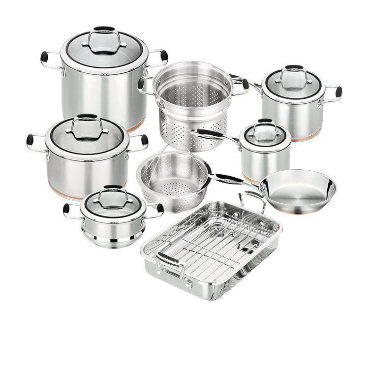 Scanpan Coppernox 9pc Cookware Set