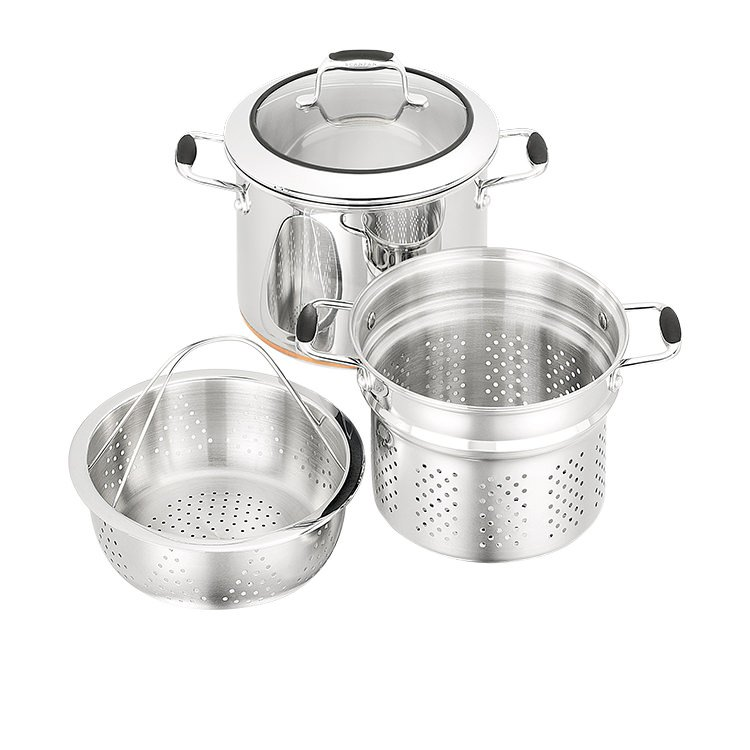 Scanpan Coppernox Multi Pasta Pot Set