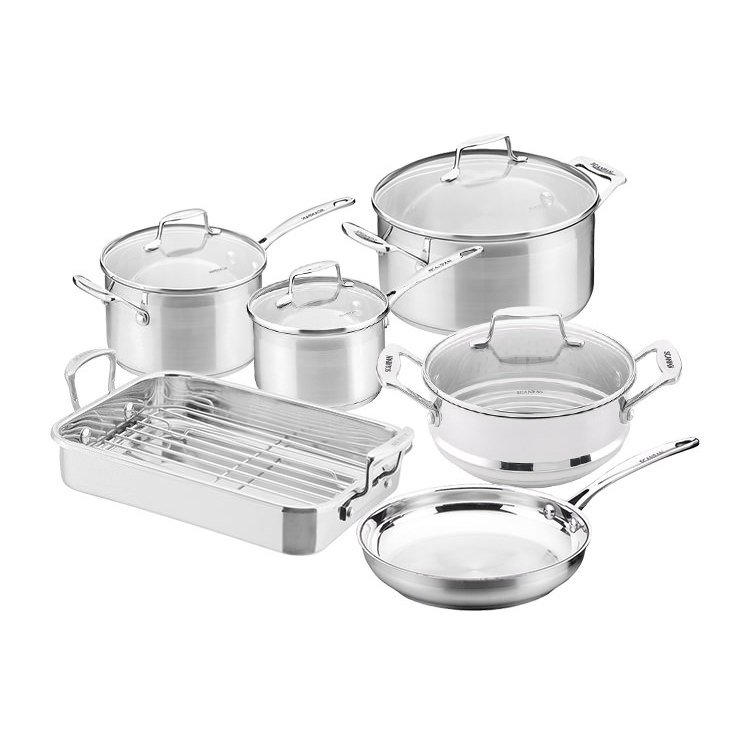 Scanpan Impact 6pc Cookware Set w/ Roaster