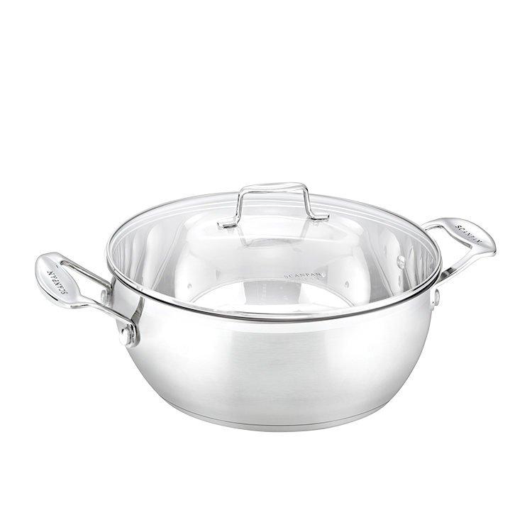 Scanpan Impact Stew Pot w/ Lid 28cm - 6L