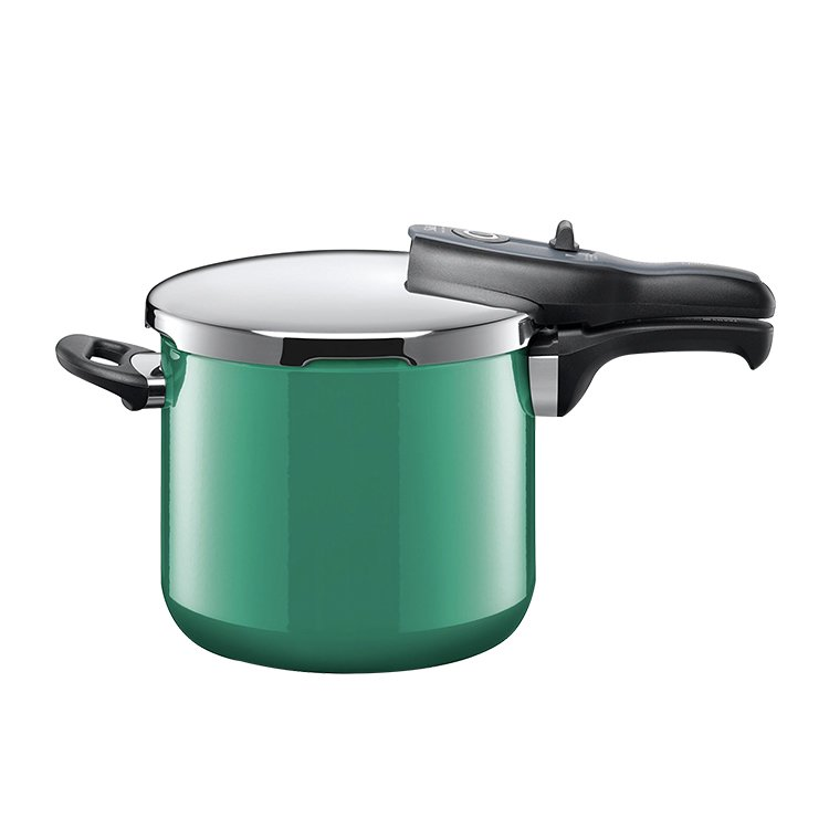 Silit Sicomatic T-Plus Pressure Cooker 6.5L Ocean green