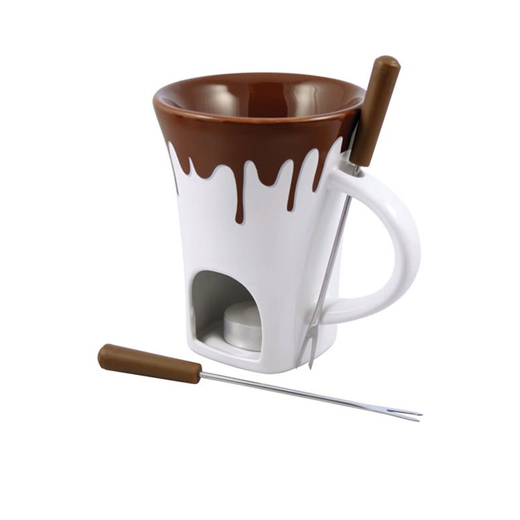 Swissmar Nostalgia 4pcs Chocolate Fondue Mug Set