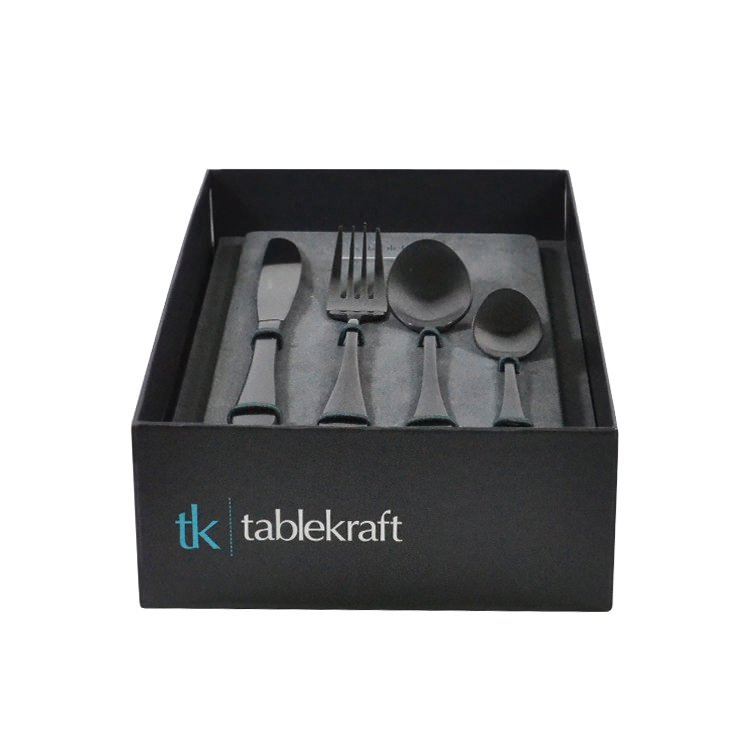 Tablekraft Soho Cutlery Set 16pc Ink