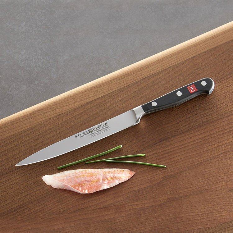Wusthof Classic Fish Filleting Knife (Flexible) 20cm