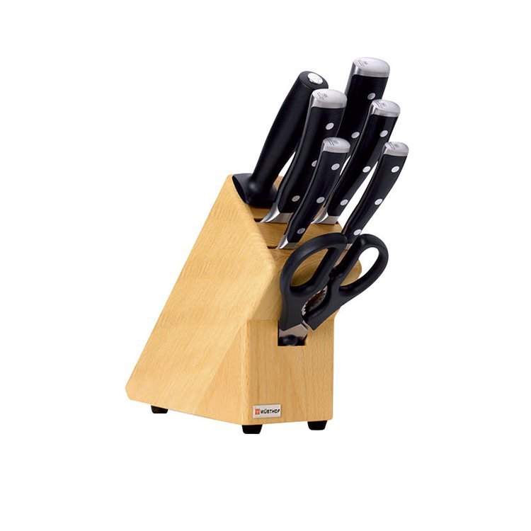 Wusthof Classic Ikon 8pc Knife Block Set
