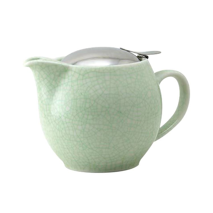 Zero Japan Teapot 450ml Crackle Green