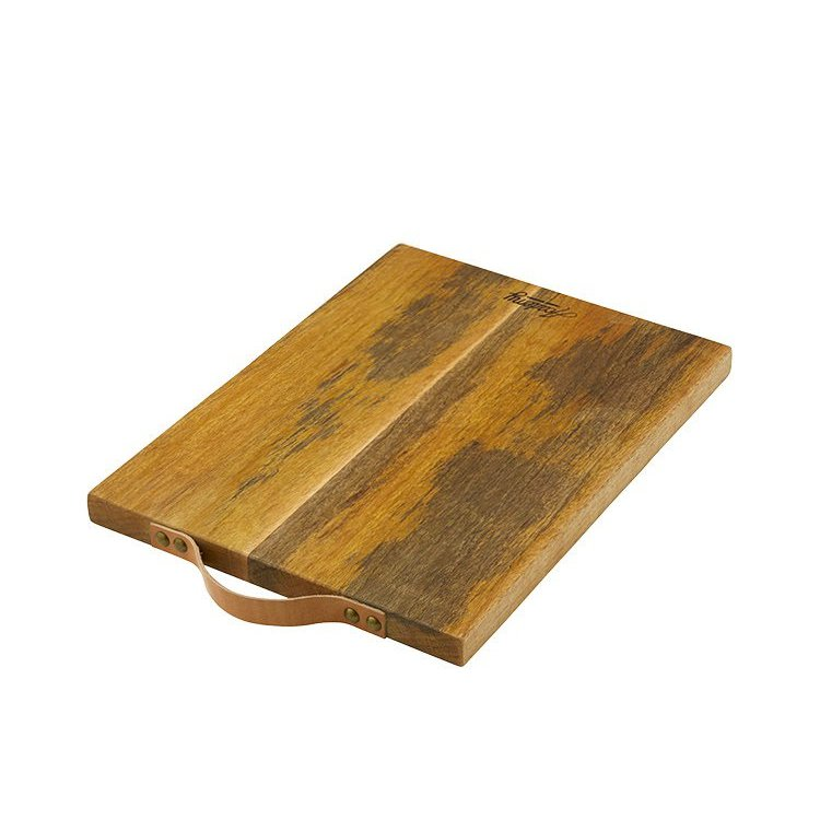 Academy Eliot Chopping Board w/ Leather Handle 43x30x2.5cm