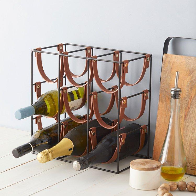 Academy Orwell 9 Bottle Wine Rack