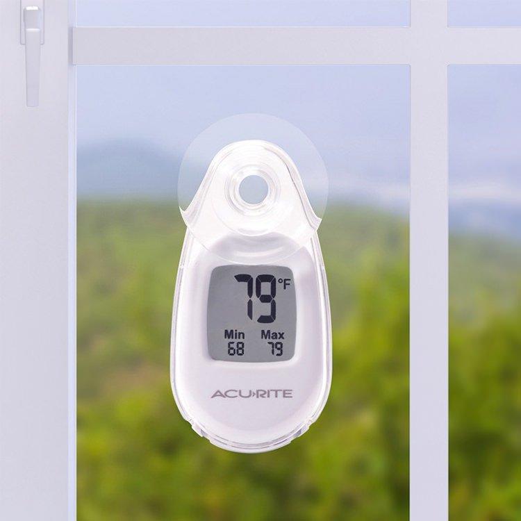 Acurite Digital Indoor/Outdoor Window Thermometer