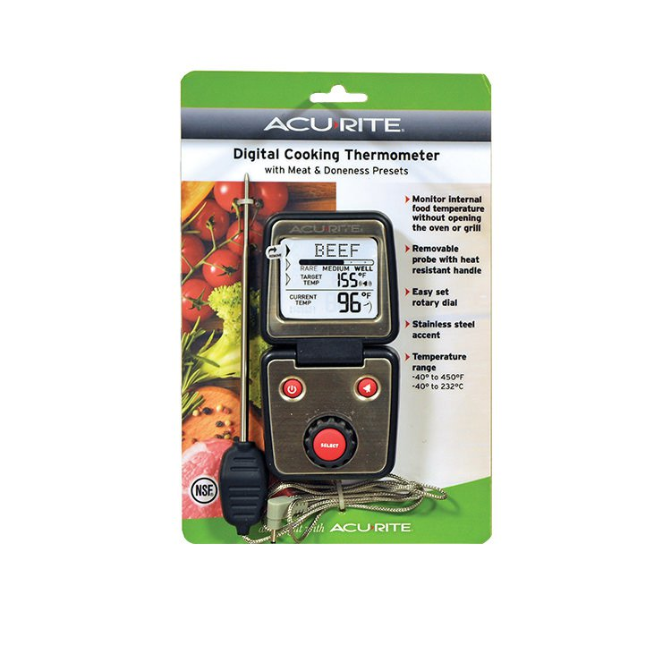 Acurite Programmable Meat Thermometer