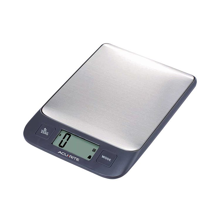 Digital Kitchen Scale: Acurite Stainless Steel Digital Kitchen Scale 1g/5kg