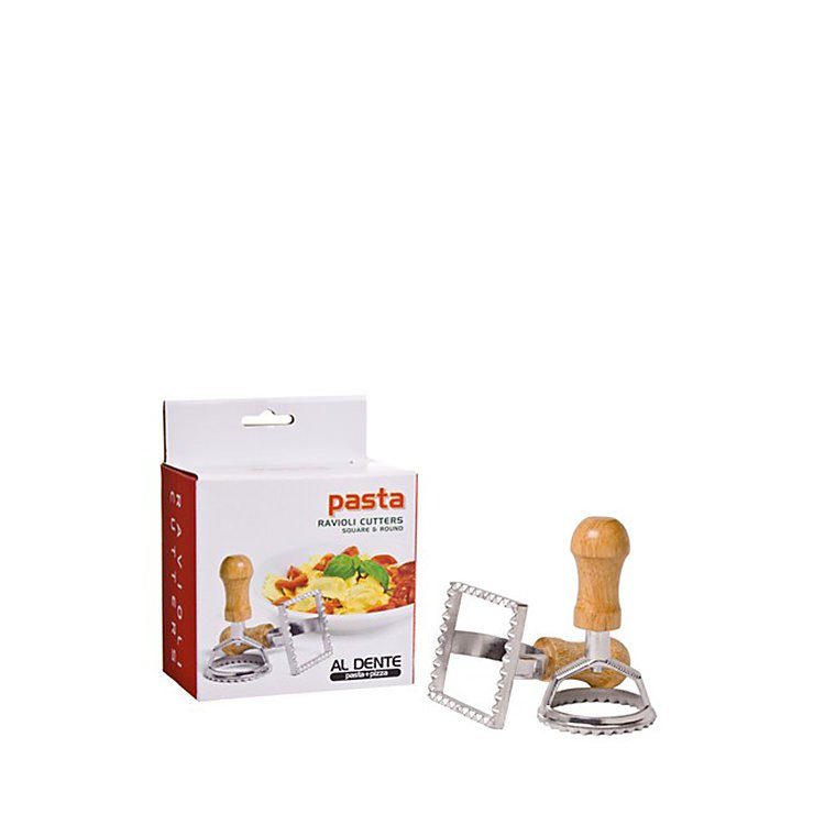 Al Dente Ravioli Cutters 2pc