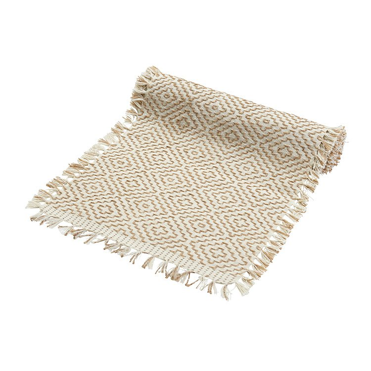 Amalfi Saba Table Runner 35cm Cream