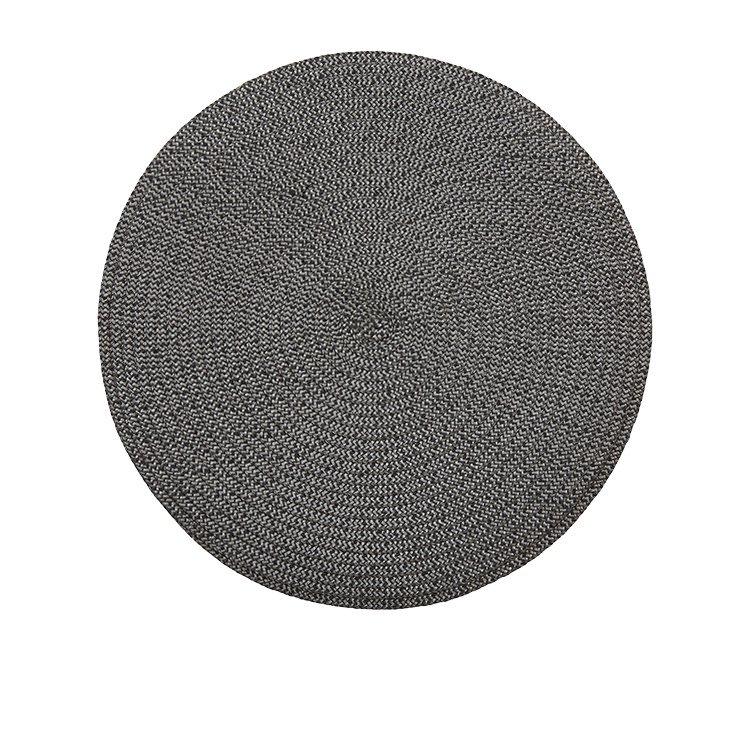 Amalfi Storm Placemat 35cm Charcoal