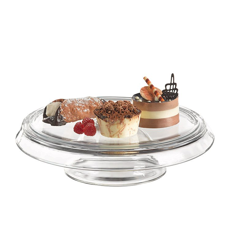 Anchor Hocking 4 in 1 Cake Stand and Dome