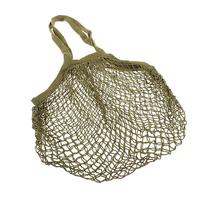 Sachi Cotton String Bag Long Handle Avocado