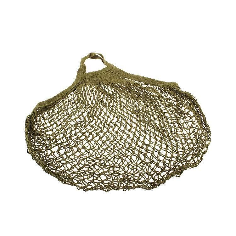 Sachi Cotton String Bag Short Handle Avocado