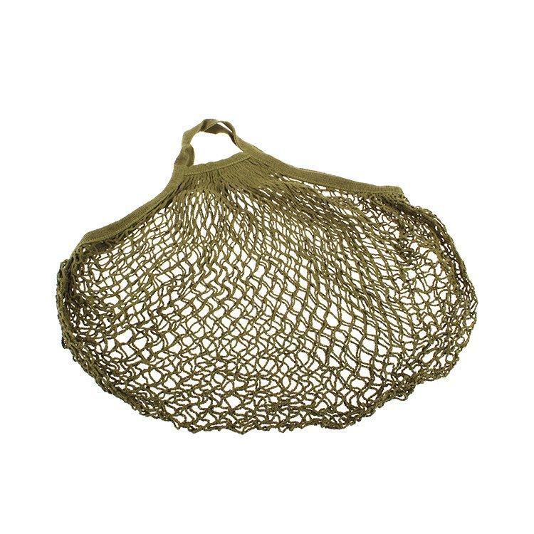 Sachi Cotton String Bag Short Handle Avocado