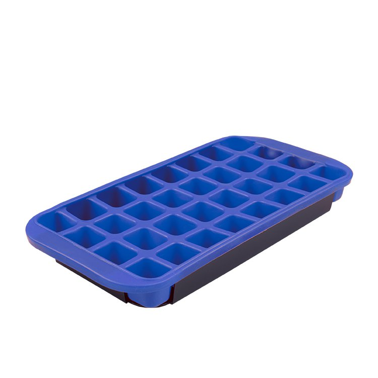 Appetito Flexible Jumbo Ice Cube Tray Blue